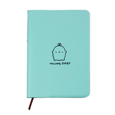 Molang Diary Weekly Planner Agenda Notepad Notebook Cute Rabbit Kawaii Leather