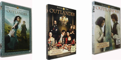 Outlander: The Complete Series Seasons 1-3 (DVD 2018, 14-Disc Box Set) 1 2 3 New