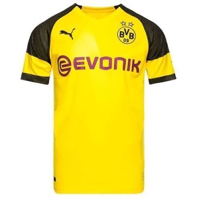 2018/19 | Adults | Borussia Dortmund Home Shirt | All Player Names & Customs
