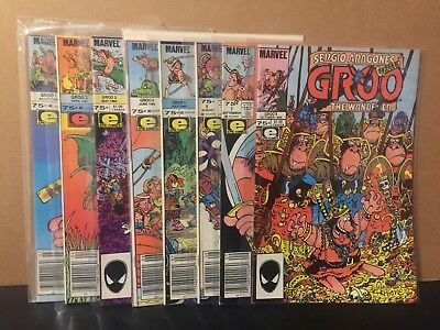 Groo The Wanderer 1-8 VF/NM Marvel Epic Comics Combine Shipping