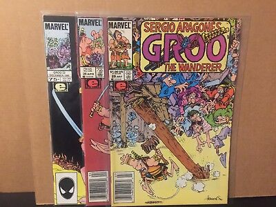 Groo The Wanderer 22 26 29 VF Marvel Epic Comics Combine Shipping