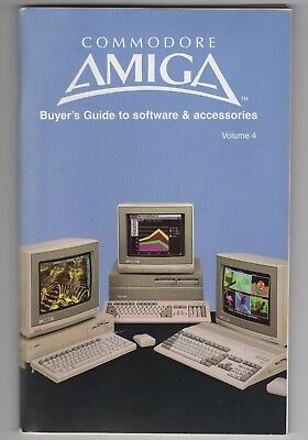 Commodore Amiga Buyer's Guide to Software and Accessories 1988 Volume 4