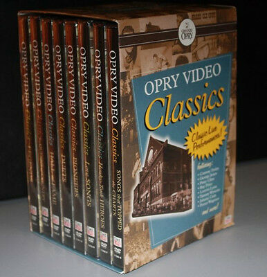Grand Ole Opry Video Classics - 120 PERFORMANCES - 8 DVDS - LIKE NEW - RARE OOP