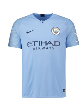 2018/19 | Adults | Manchester City Home Shirt | All Player Names & Customs