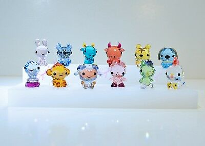 Swarovski 2017 Cute Chinese Zodiac Full Set Collection Brand New In Box