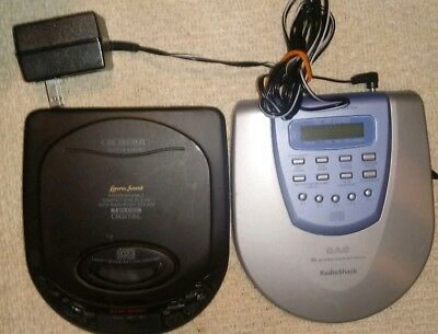 Lennox Sound & Radio Shack Portable CD Player with AC adapter