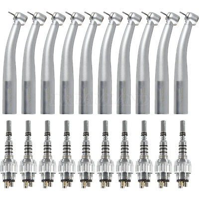 10X Fiber Optic Dental High Speed Handpiece 6H Multiflex Coupler f/KAVO6000 CE