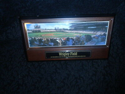 1994 Sports Impressions Chicago Cubs Wrigley Field Stadium Collectors Plaque