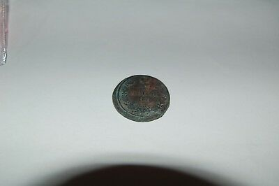 Authentic Russian 2 Kopecks 1817
