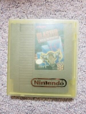 Blaster Master (Nintendo NES) - Game, manual, and a case. Works great!