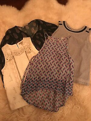 Lot of 4 Womens Shirts from Lucky Brand and Nordstrom Sizes XS/S