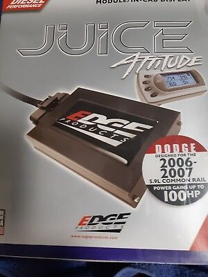 Edge Juice Dodge 2006-2007 5.9 common rail (FREE SHIPPING TO USA & CANADA
