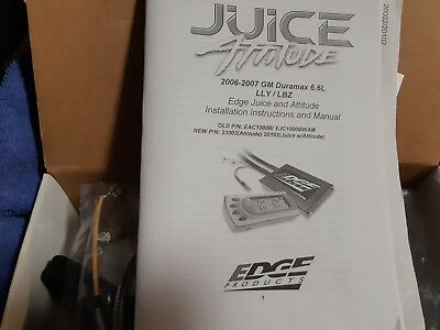 Edge juice with Attitude 20102 2006-2007 6.6 DURAMAX (Free shipping to-USA&canad