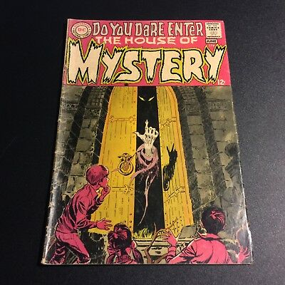HOUSE OF MYSTERY #174 1968 Mystery Format begins!  Bronze Age DC Horror Comics