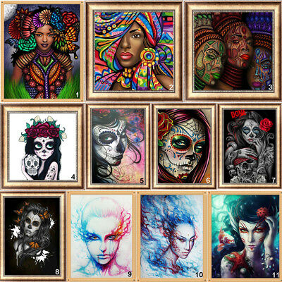 Girl Full Drill DIY 5D Diamond Painting Embroidery Beauty Cross Stitch Kits Art