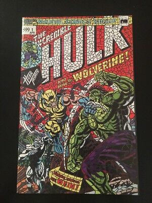 HULK #181 SHATTERED VARIANT HUNT FOR WOLVERINE #1 NM SOLD OUT Lowest Price!!