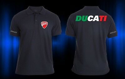 New With Tag Ducati Italy Corse Evo Diavel Polo T-Shirt Ss Superbike Motorcycle