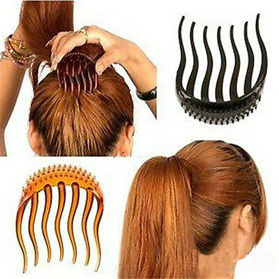 Cute Bump Up Inserts Hair Comb Hair Clip Styler Bumpits Ponytail Bouffant Tool D
