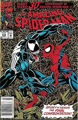Amazing Spider-Man #375 ~ 1993 30th Anniversary Gold Holofoil Cover ~ Charity