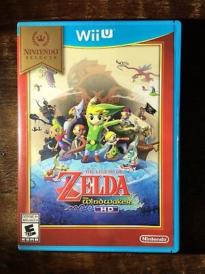 Legend of Zelda: The Wind Waker HD Nintendo Selects - Nintendo Wii U 2016