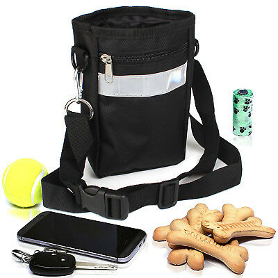 Dogs Cats Puppy Treat Pouch For Outdoor Training Travel Pet Food Snack Bag