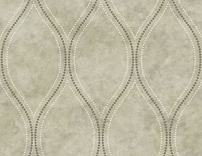 Kenneth James by Brewster 2765-BW402058Geo Eira Light Brown Marble Ogee
