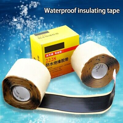 1 Roll 2228 Waterproof Rubber Mastic Tape 50.8mm*3M*1.65mm Protection
