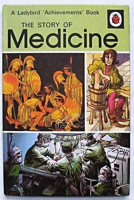 Vintage Ladybird Book - The Story of Medicine - 601 - Early Edition 24p Mint