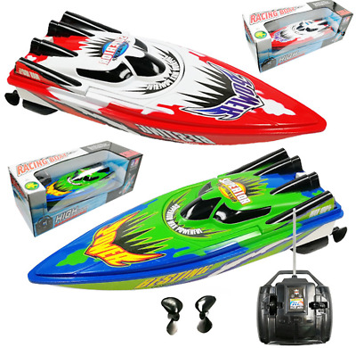 Remote Control Twin Motor High Speed Boat RC Racing Outdoor Toys With Radio