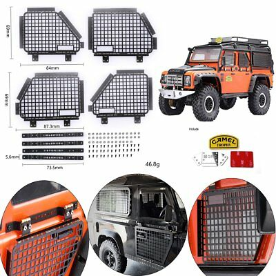 DJ Metal Guard Door Protection Window For TRAXXAS TRX4 RC4WD D90 D110 Land Rover