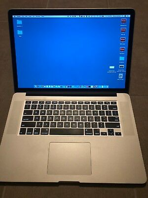 """15"""" Macbook pro 500GB SSD (Great Condition) with Thunderbolt Docking Station"""