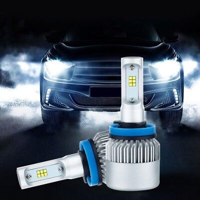 H7 20000LM 200W LED Headlight Kit Bulbs Low Beam High Power 6500K White