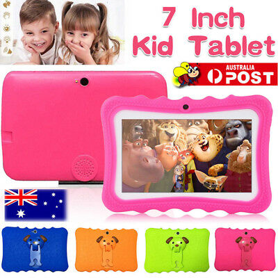 """7"""" inch Android 4.4 HD Tablet PC Quad Core WiFi Camera For Child Children Gift"""