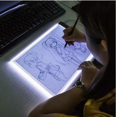 A4 LED Artcraft Tracing Light Pad Box Drawing Board Stencil Diamond Art Painting