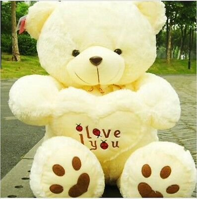 2018 Hot Giant large huge big teddy bear soft plush kid toy Birthday Gifts 50cm