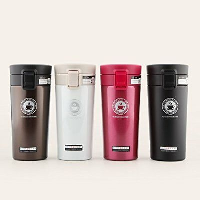 Thermos Cup Double Wall Stainless Steel Hot Coffee Travel Mug Thermal Bottle