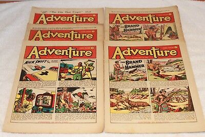 5  Adventure  Comics....1952....lots + Lots  More  Today / This  Week..lot 6
