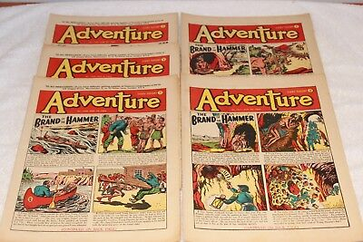 5  Adventure  Comics....1952....lots + Lots  More  Today / This  Week..lot 7