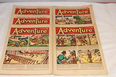 5  Adventure  Comics....1952....lots + Lots  More  Today / This  Week..lot 8