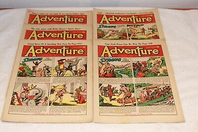 5  Adventure  Comics....1952....lots + Lots  More  Today / This  Week..lot 9