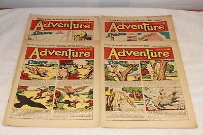 4  Adventure  Comics....1952....lots + Lots  More  Today / This  Week..lot 10