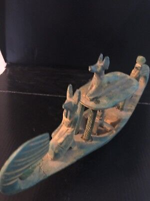 Rare ancient Egyptian Stone Boat (old Kingdom)