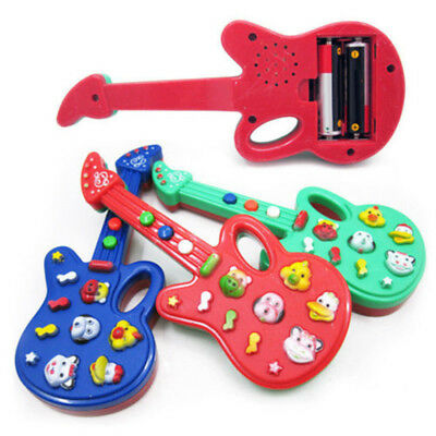 Toddler Baby Boy Gril Electronic Guitar Toy Music Kids Sound Play Development US