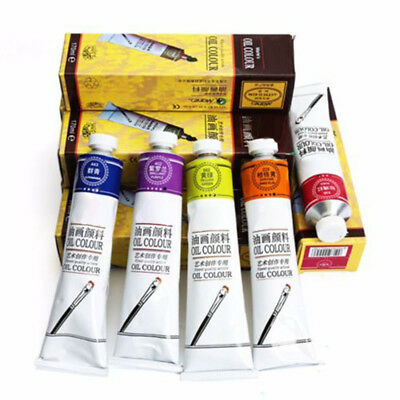 Oil Paint Pigment Art Painting Supplies Non-toxic High Quality/Tube New Sale