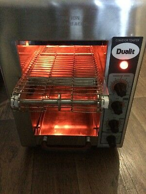 rare Dualit Conveyor/Belt Bun/Bread Toaster & is fully working collection free
