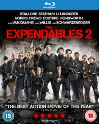 Bruce Willis, Sylvester Sta...-Expendables 2 Blu-ray NUOVO