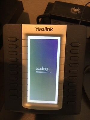 Yealink EXP39 IP Phone Expansion Module with LCD Display, power