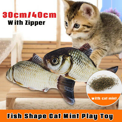 Grass Carp Kitten Cat Masticare Mint Velvet Catnip Interactive Play Toy