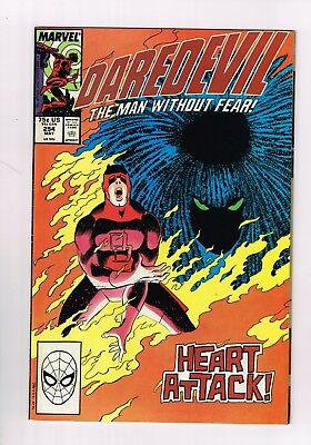 Daredevil 254 FN/VF 7.0 FIRST APPEARANCE OF TYPHOID DAREDEVIL TV SHOW KINGPIN