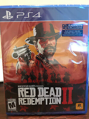 Red Dead Redemption II PS4 Sealed - Brand New - No Reserve